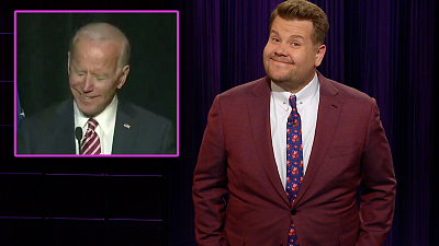 The Late Late Show with James Corden - President Donald Trump Can Spot a Low IQ