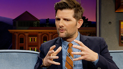 The Late Late Show with James Corden - Adam Scott Boarded an Endless 'Twilight Zone' Flight