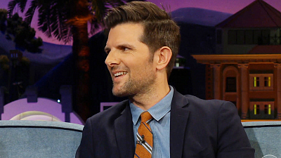 The Late Late Show with James Corden - Even French Adam Scott Doesn't Do Sea Snails