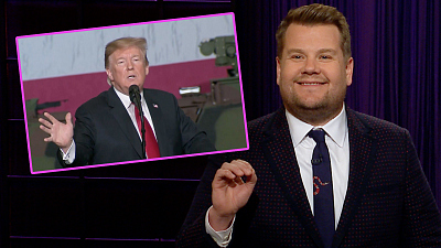 The Late Late Show with James Corden - Model Husband Donald Trump Can Spot Bad Husbands