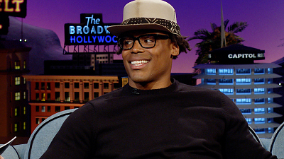 The Late Late Show with James Corden - Cam Newton Explains the Flowers On His Instagram