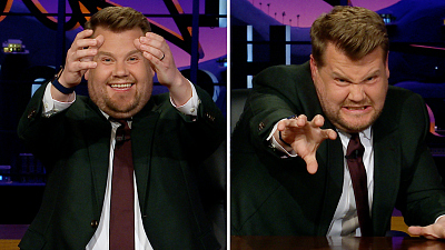 The Late Late Show with James Corden - Apple Watch Hidden Features: Surfing, Bongos
