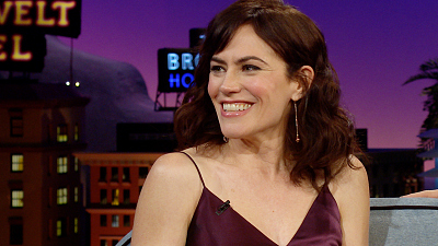 The Late Late Show with James Corden - Maggie Siff Can Do a Hall of Fame Bronx Accent