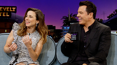 The Late Late Show with James Corden - Linda Cardellini Was Once Fired from 'Family Guy'