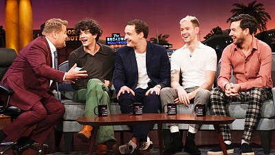 The Late Late Show with James Corden - Chatting with The 1975