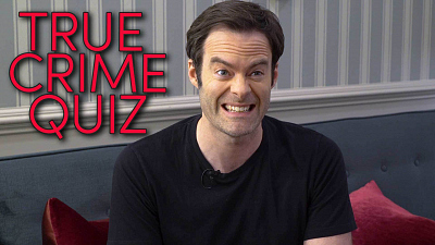 The Late Late Show with James Corden - Bill Hader Murders a Quiz About True Crime