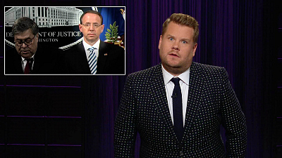 The Late Late Show with James Corden - The Mueller Report Has (Mostly) Been Released