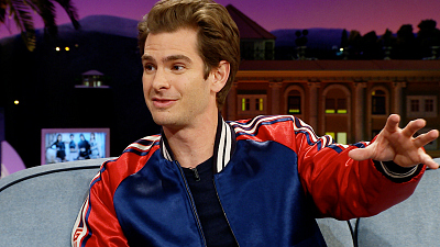 The Late Late Show with James Corden - Andrew Garfield Once It Lived Out 'White Men Can't Jump'