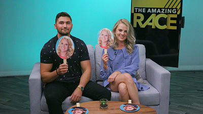 The Amazing Race - The Amazing Race's Victor And Nicole Play An Adorable Game Of Superlatives