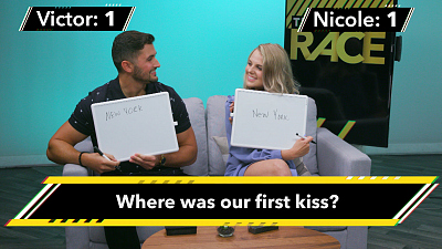 The Amazing Race - The Amazing Race's Victor And Nicole Quiz Each Other With Fiancée Facts