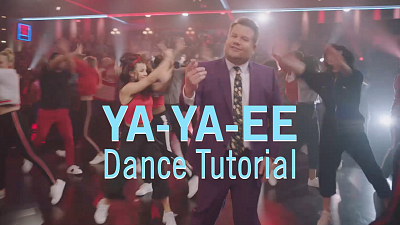 The Late Late Show with James Corden - Ya-Ye-EE Dance Tutorial - Based on 'Juice' by Lizzo