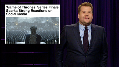The Late Late Show with James Corden - The 2020 Race Is the Only Game of Thrones Left