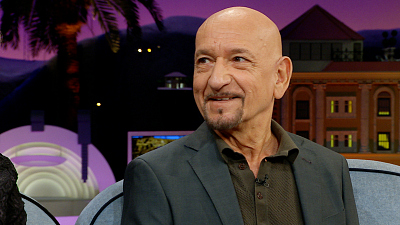 The Late Late Show with James Corden - Why Was Sir Ben Kingsley's Childhood Nickname 'Cupid'?