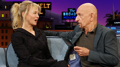 The Late Late Show with James Corden - Sir Ben Kingsley Brings 'Jerry Maguire' to Life w/ Renee Zellweger