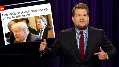 The Late Late Show with James Corden - Nobody In Washington Is Listening to Congress