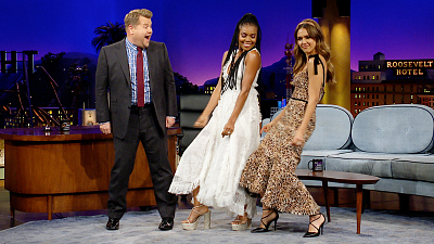 The Late Late Show with James Corden - Gabrielle Union & Jessica Alba Bond w/ Tequila & Choreography