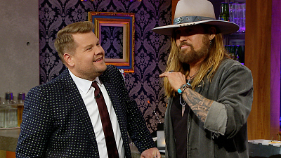 The Late Late Show with James Corden - Billy Ray Cyrus Got a Maserati from Lil Nas X