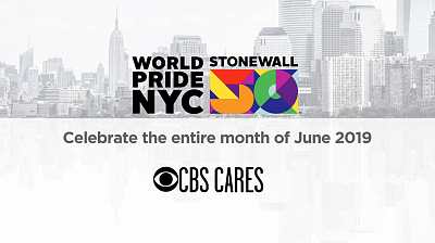 CBS Cares - Alan Cumming and Anthony Rapp on World Pride and Stonewall 50