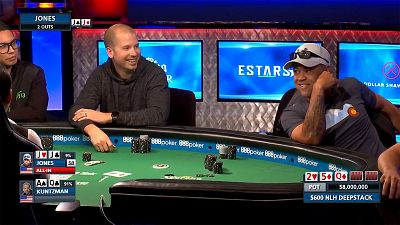 World Series of Poker - WSOP - $600 NLH Deepstack Dan Kuntzman goes BACK-TO-BACK
