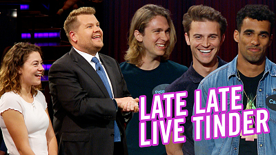 The Late Late Show with James Corden - Late Late Live Tinder - Seeking a Strong Jawline