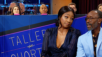 The Late Late Show with James Corden - Taller or Shorter w/ Tiffany Haddish & Don Cheadle