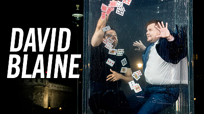 The Late Late Show with James Corden - David Blaine Goes Underwater for a Card Trick & Wine - #LateLateLondon