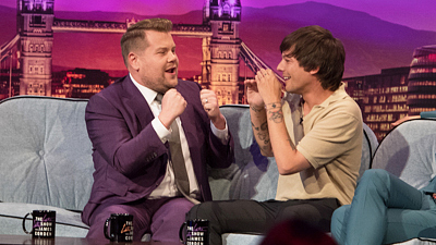 The Late Late Show with James Corden - Louis Tomlinson Brings Back the Cat