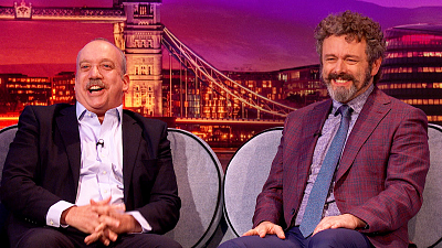 The Late Late Show with James Corden - Michael Sheen & Paul Giamatti Are Very International - #LateLateLondon