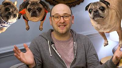 The Late Late Show with James Corden - Josh Gondelman Freestyles Pug Songs