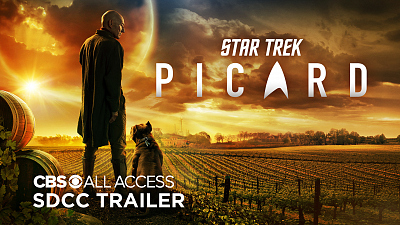 Star Trek: Picard - Star Trek: Picard   SDCC Trailer - Sir Patrick Stewart Returns