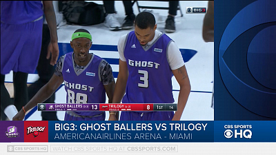BIG3 Basketball - BIG3 Highlight: Ghost Ballers vs. Trilogy