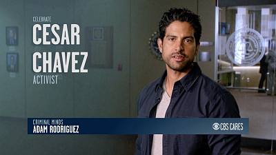 CBS Cares - Adam Rodriguez on Cesar Chavez