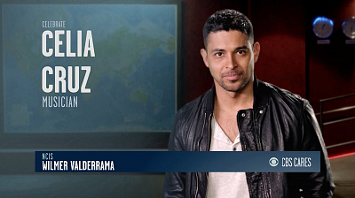 CBS Cares - Wilmer Valderrama on Celia Cruz