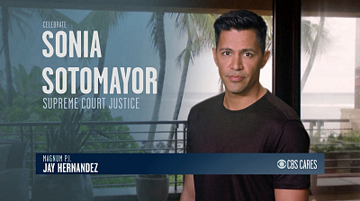 CBS Cares - Jay Hernandez on Sonia Sotomayer