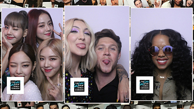 The Late Late Show with James Corden - The Late Late Show Photo Booth Montage: Year 4