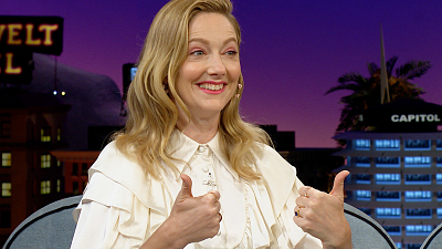The Late Late Show with James Corden - Judy Greer Just Watched 'The Lion King' for the First Time