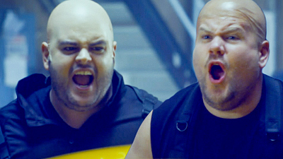 The Late Late Show with James Corden - Josh Gad & James Corden Were Fired from 'Hobbs & Shaw'