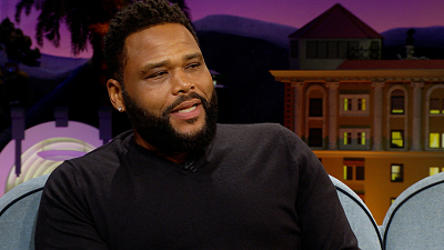 The Late Late Show with James Corden - Anthony Anderson Saved a Diamond in the Drain with a Q-Tip