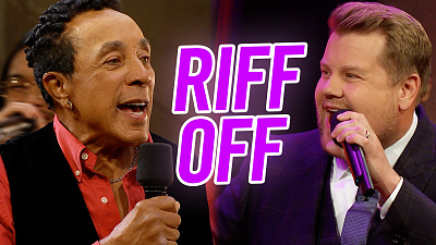 The Late Late Show with James Corden - Riff-Off w/ Smokey Robinson - Classic Soul v. Modern Soul
