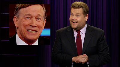 The Late Late Show with James Corden - Goodbye John Hickenlooper, We Hardly Knew Ya