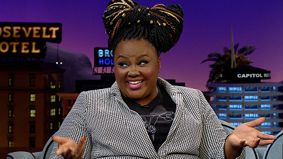The Late Late Show with James Corden - Nicole Byer Does Not Buy Toilet Paper...Ever