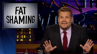 The Late Late Show with James Corden - James Corden Responds to Bill Maher's Fat Shaming Take