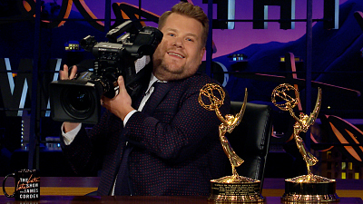 The Late Late Show with James Corden - James Corden Celebrates His Emmy-Winning Crew