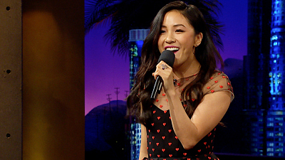 The Late Late Show with James Corden - Constance Wu Recalls Her JLo Impersonator Days