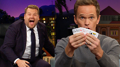 The Late Late Show with James Corden - Neil Patrick Harris Comes with a Trick Up His Sleeve