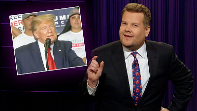 The Late Late Show with James Corden - Trump Can't Believe He's Not WASP!