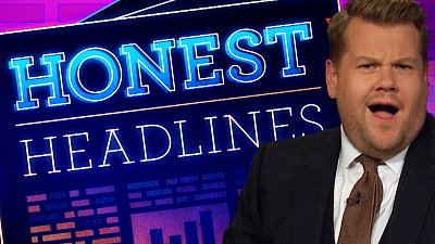 The Late Late Show with James Corden - Honest Headlines