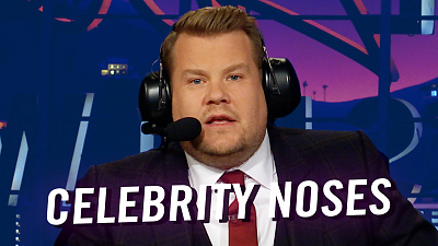 The Late Late Show with James Corden - Celebrity Noses - Replacement Microphone