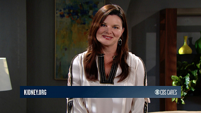 CBS Cares - Heather Tom on Kidney Donation