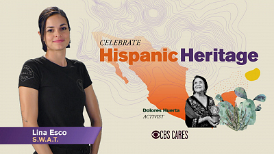 CBS Cares - Lina Esco on Hispanic Heritage Month